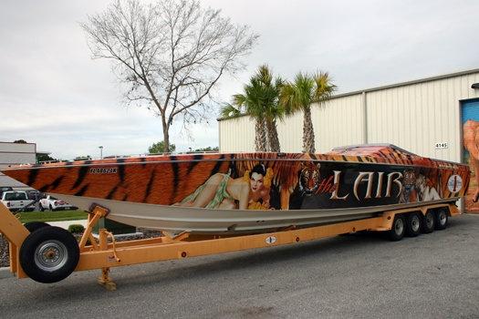 Custom Boat Wrap Designs Decals Lettering Amp Cost Design