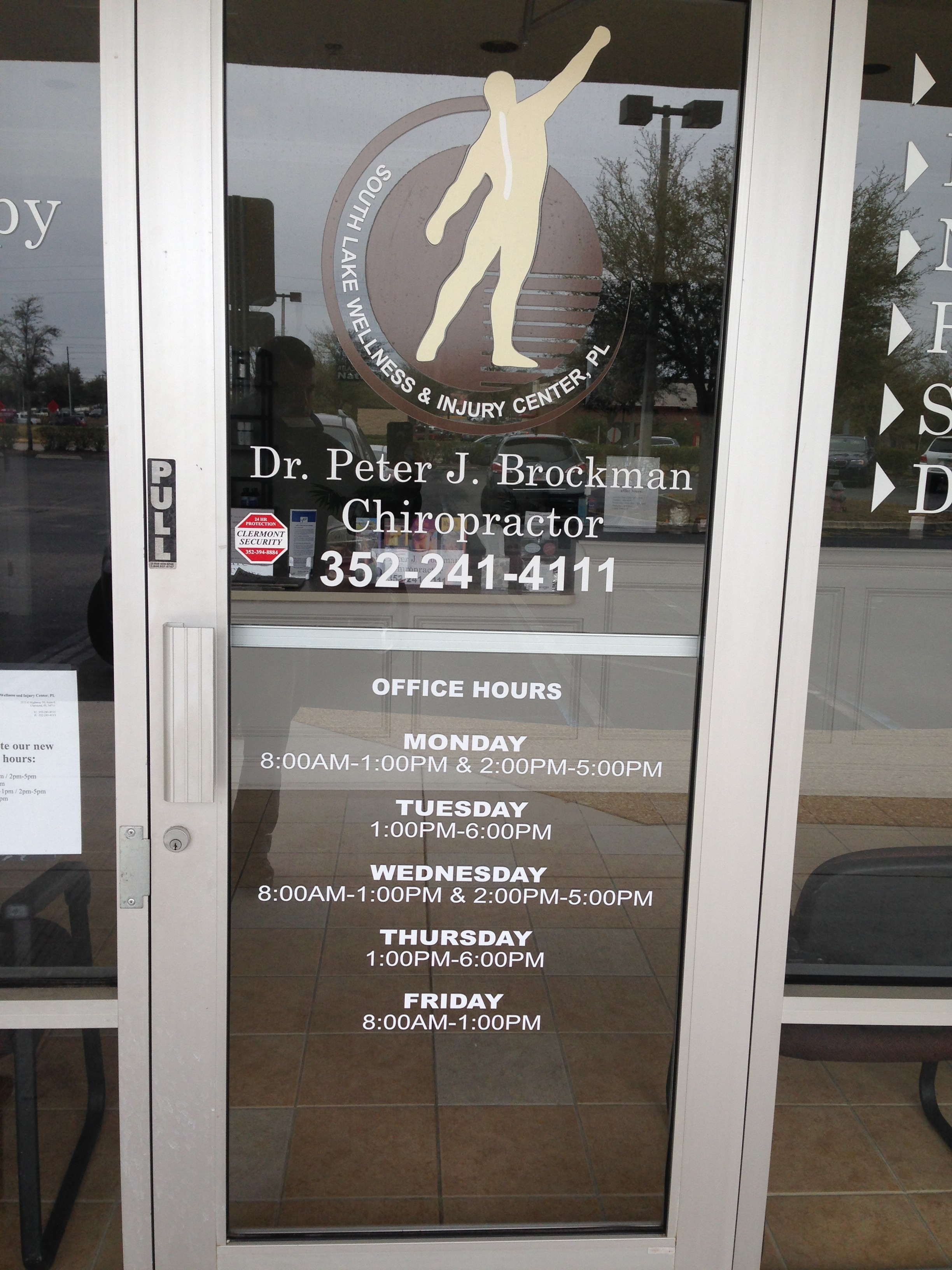 Replace vinyl door lettering and hours design print plus for Office front door design